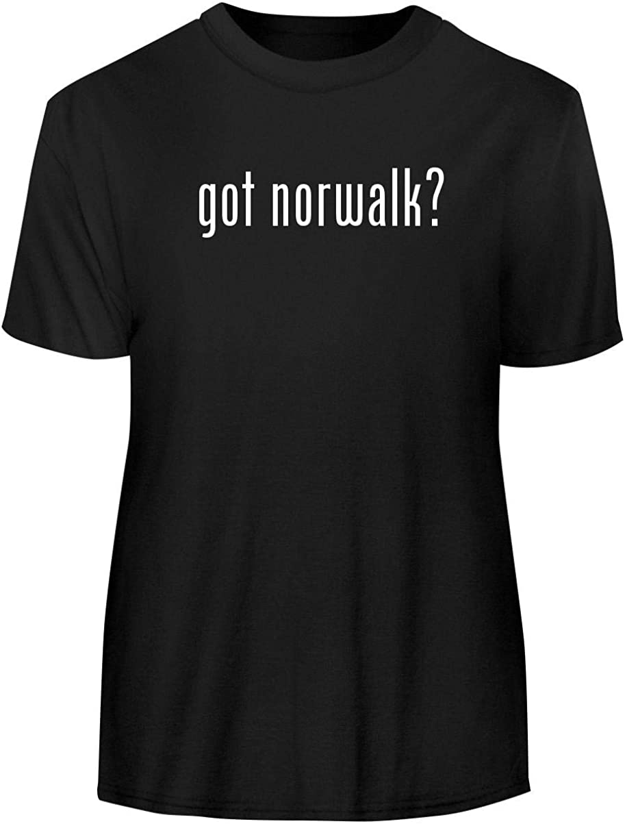 One Legging it Around got Norwalk? - Men's Funny Soft Adult Tee T-Shirt