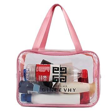 Bolsa de cosméticos transparente para objetivos de viento ...