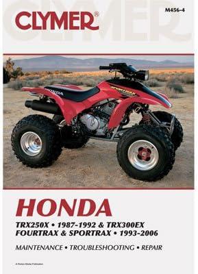 Clymer (manuales de reparación para Honda TRX 300EX 1993 – 2006