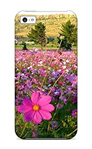 High Quality Art Marie Johnson Flower Skin Case Cover Specially Designed For Iphone - 5c