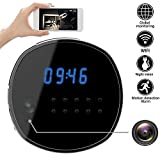 Best Night Vision For Home Securities - Wifi Hidden Camera Spy mini Cameras Clock HD Review