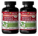 Cheap Organic Moringa Oil – MORINGA OLEIFERA EXTRACT 1200 – Cardiovascular 2 Bottles, 120 Capsules
