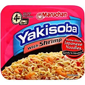 Amazon.com : Maruchan Yakisoba with Shrimp Noodles 4.04 oz