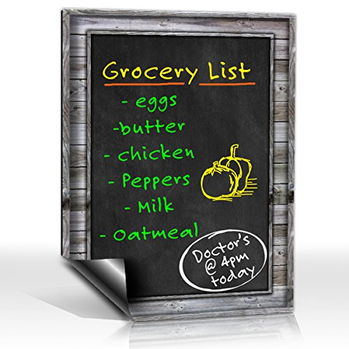 Smart Planner Refrigerator Chalkboard Horizontal product image