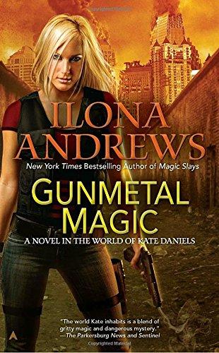 book cover of Gunmetal Magic