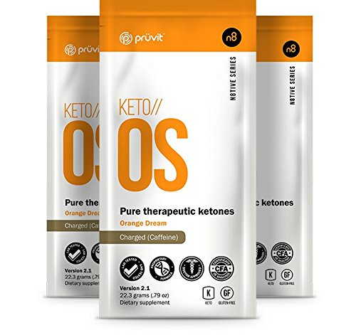 Ketos//OS ~ Pruvit ~ Pure Therapeutic Ketones ~ (5 Pack) ~ V 2.1 Charged