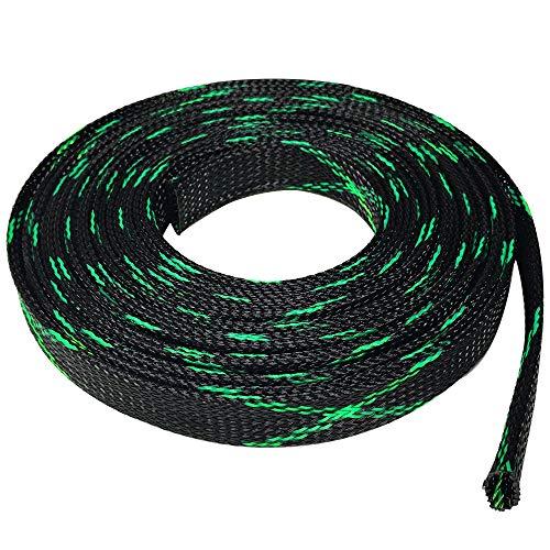 - Seismic Audio - EBS3450Green- 50 Feet Green/Black 3/4
