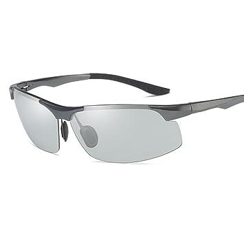 WYYY Gafas De Sol Gafas Gafas De Conducción Hombres Decoloración Clásico Día Y Noche Luz Polarizada