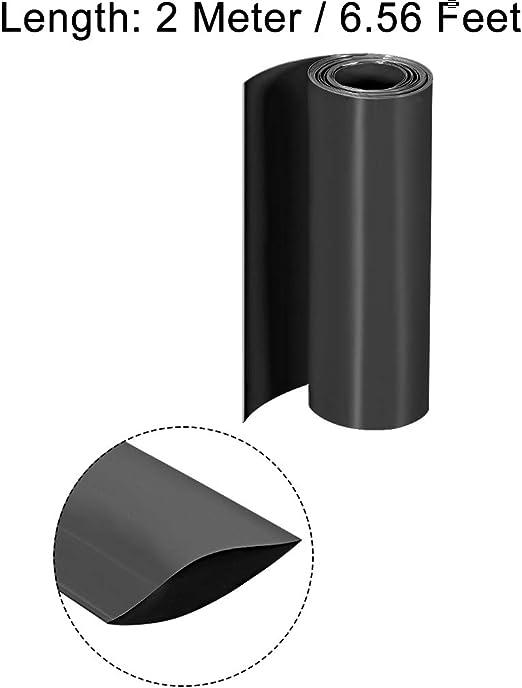 sourcing map Protector De Suelo 60mm Od Inserciones De Tubo Redondo De Pl/ástico Negro De Funda Protectora 2,2-2.28 Di/ámetro Interior