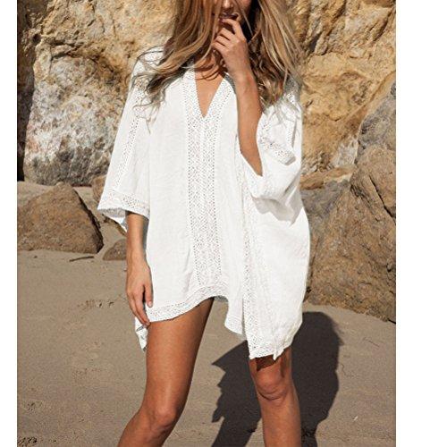Costumi Coprire Moda Tunica Da Stile Up Nuova Bagno Crochet Donna beach B Dress qx0tdYYwE