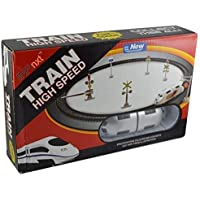 Awww Cuties High Speed Battery Operated Train Set for Kids (Small Metro) : AC029