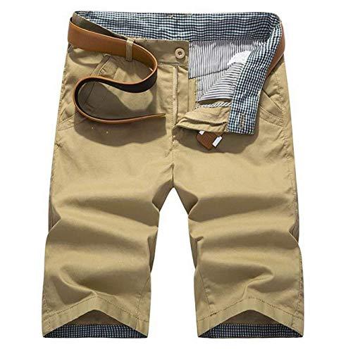 Medi color Traspiranti Abbigliamento 38 Casual Uomo Khaki Pantaloni Lannister Corti Estate 2018 Pantaloncini Size Festivo A Cargo xOwzH1qg