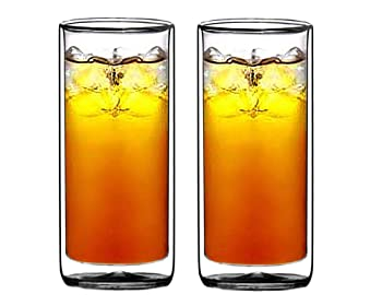 Sun's Tea Double-walled Beer Glass
