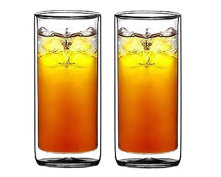 Sun's Tea Double-walled Beer Glass