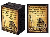 100 Legion Raven Deck Protectors & Deck Box Combo Set Legion Supplies Matte Sleeves 2-Packs - Standard Magic the Gathering Size