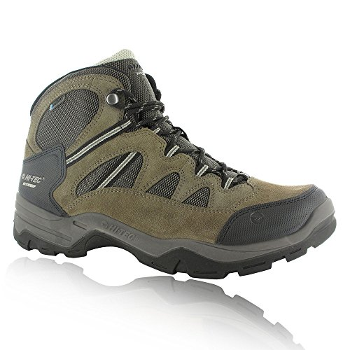 - Hi-Tec 2016 Dri-Tec Bandera II Leather Lightweight Mens Sports Walking Boots - Waterproof Smokey Brown 11UK