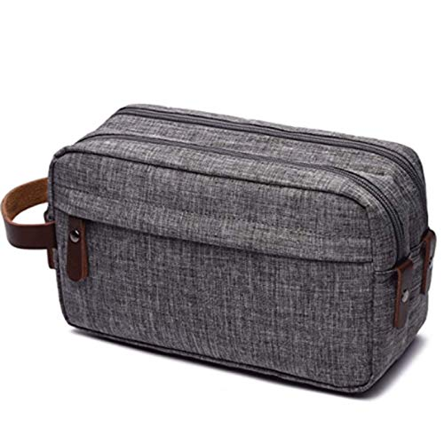 Men's Toiletry Bag Travel Dopp Kit Bathroom Shaving Organizer for Toiletries