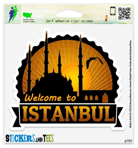 (Istanbul Vinyl Car Bumper Window Sticker 10