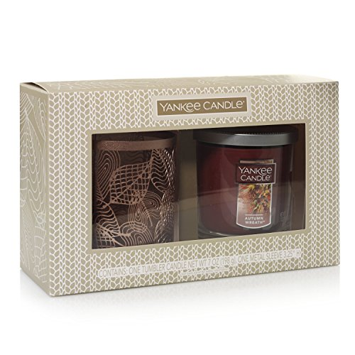 Yankee Candle Linear Leaves Gift Set (Gift Candles Set)