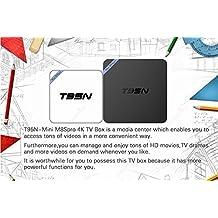 [BIG DISCOUNT] Diwenhouse T95N Mini M8S Pro 5.1 Android TV Box Amlogic S905 Quad Core 1GB 8GB Kodi 16.0 3D Wifi HDMI HD 4K Fully Loaded Streaming Media Player (T95N)