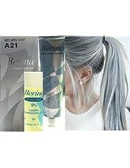 Hair Colour Permanent Hair Cream Dye Light Ash Grey...