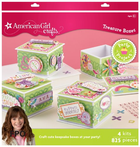 American Girl Crafts Decorated Treasure