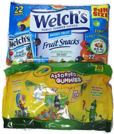 Welch's Fruit Snacks & Crayola Assorted Gummies - (2 PACK) ()