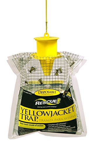 Disposable Rescue Yellowjacket Trap YJTD-E For East of the Rockies (Pack of 3)