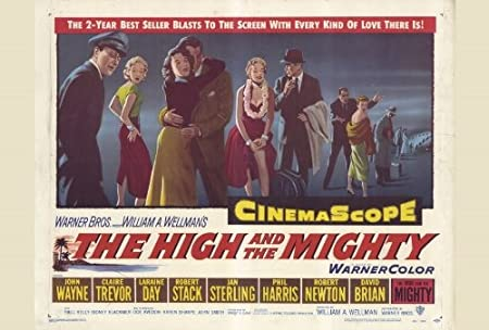 The High and The Mighty Póster de película B 27 x 40 en - 69 ...