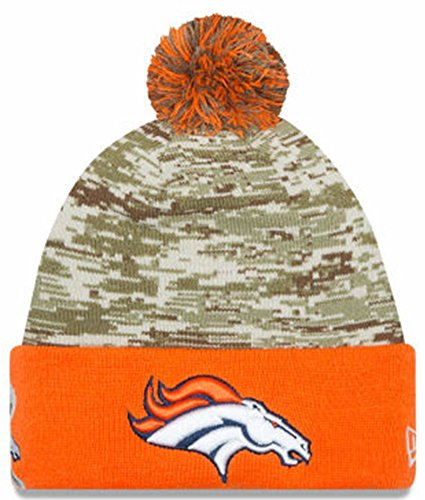 Amazon.com   Denver Broncos New Era 2015 Salute To Service On-Field ... 395e880a81