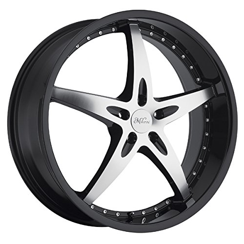 """UPC 886821116683, Milanni 453 ZS-1 Wheel with Gloss Black Maxhined Face Finish (22x8.5""""/5x4.5"""", +20mm offset)"""