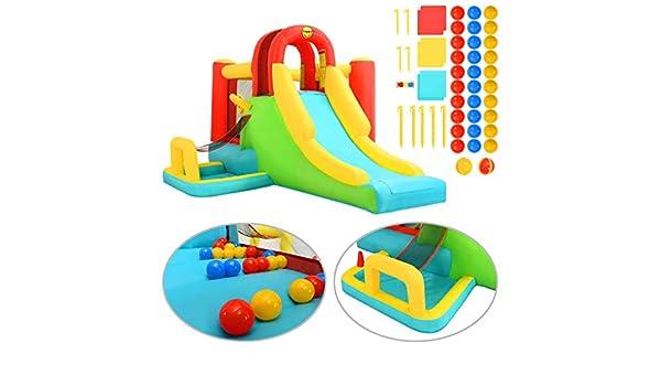 Tidyard- Fantasy Castle-Kinder Play Center - Castillo Hinchable ...