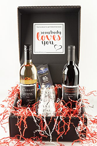 Sweet Red & Bubbly Wine Gift Set, 2 x 750 mL