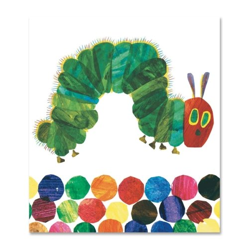 Carson Adhesive Self (Wholesale CASE of 20 - Carson Hungry Caterpillar Good Works Holder-Good Work Holders, Hungry, Self Adhesive, Multi)