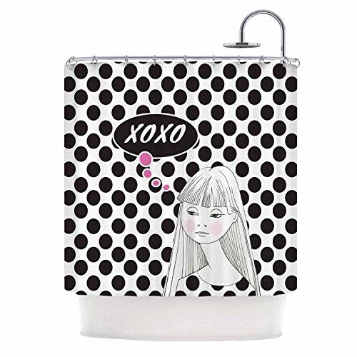 "Kess InHouse Zara Martina Mansen ""XOXO Pop Art Polka Dot ..."