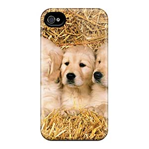 Iphone 6 Cases, Premium Protective Cases With Awesome Look - Puppies In Hay