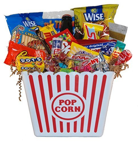 Movie Night Junk Food Bucket - Large
