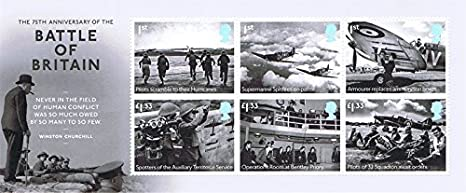 2015 Battle of Britain 75th Anniversary Miniature Sheet No. 110 - Royal Mail Stamps by Royal Mail