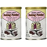 Trader Joe's Baking Powder Aluminum Free & Double Acting 8.1 Oz (Pack of 2)