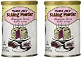 Trader Joe's Baking Powder Aluminum Free & Double Acting 8.1 Oz (Pack of 2) Review