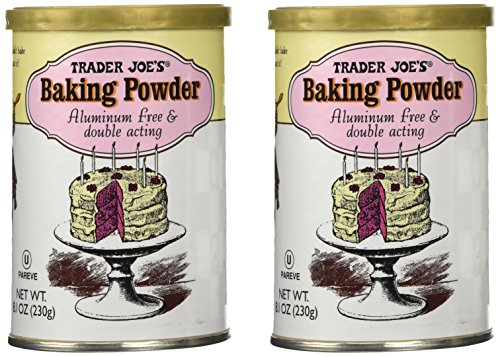 Trader Joes Baking Powder Aluminum
