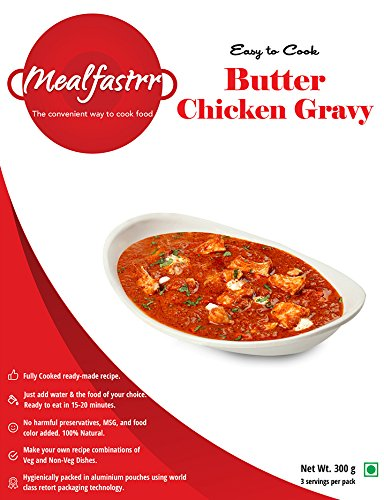 Mealfastrr Butter Chicken Makhani Ready To Cook And Eat Indian Meal