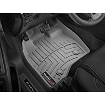 Weathertech 464371 Front Floor Liner for 2013 Porsche Boxster & 2014 Porsche Cayman, Grey.