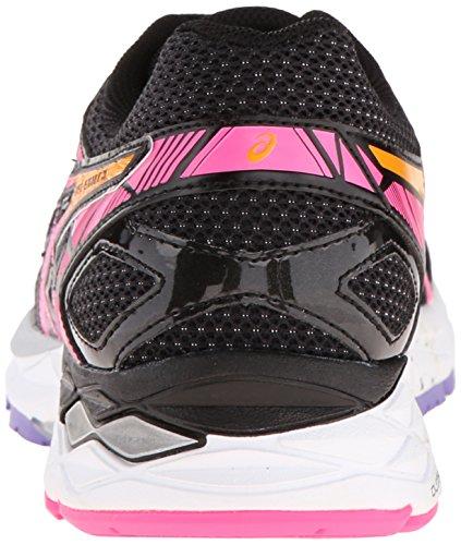 Asics Womens Gel-Evate 3 Running Shoe Black/Pink Glow/Iris