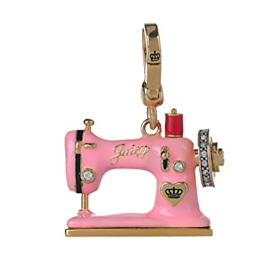 Amazon Juicy Couture Pink Sewing Machine Charm Bead Charms Unique Juicy Couture Sewing Machine Charm