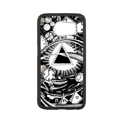 Fayruz- Personalized Protective Hard Textured Rubber Coated Case Cover for Samsung Galaxy S6 - Pink Floyd -S6O1187