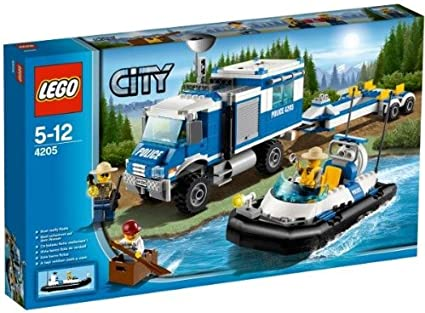 Amazon Com Lego City Police Off Road Command Center 4205 Toys