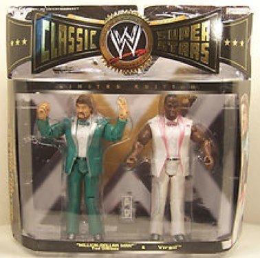 World Wrestling Entertainment WWE CLASSIC SUPERSTARS 2 PACK - MILLION-DOLLAR ...