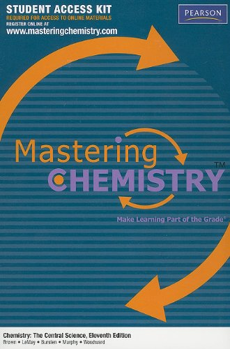 MasteringChemistry™ Student Access Kit for Chemistry: The Central Science (MasteringChemistry (Access Codes))