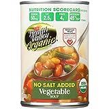 Health Valley Organic Soup - Vegetable, No Salt Added - Case of 6 - 15 oz.